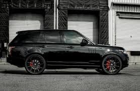 car range rover 2016 range rover all black everything motors pinterest range