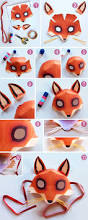 fox 5 minutes free easy fox mask template