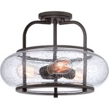 Glass Ceiling Fixture by Flush And Semi Flush Ceiling Lighting At Bellacor