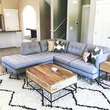 West Elm Sectional Sofa West Elm Chaise Sofa Seated Couches West Elm Chaise Tufted