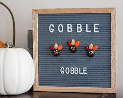 turkey ornaments thanksgiving thanksgiving turkey letterboard ornaments pack of 3 fall