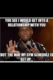 Gym Relationship Memes - kevin hart exes relatable humor funny memes gym humor pinderful