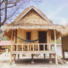 bungalows gili air bali small house beach front www rudisbalitours