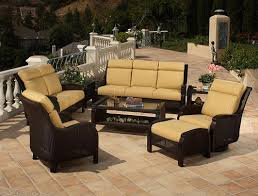 Wicker Patio Furniture Set Patio Furniture Orange County Clearance Patio Designs For 2017