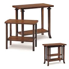 Lloyd Wright Coonley Nesting End Table
