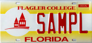 Florida Vanity Plate Cost Florida License Plates Easily Find Florida College License