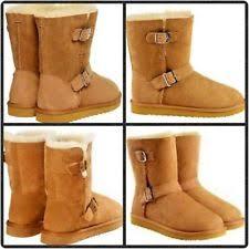 ugg dafni sale ugg australia buckle suede solid boots for ebay