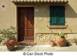 The Tuscan House Stock Photo Of Entrance To The Tuscan House Elegant Front Door