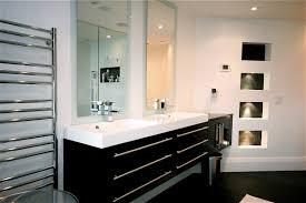 Mirrors For Bathroom Vanity Vanity Decotec Sink Vanity With 2 Bath Mirrors Bathroom