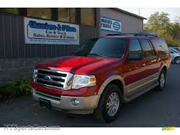 ford expedition red 2009 ford expedition el eddie bauer 4x4 in royal red metallic