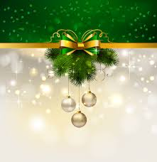 christmas decoration background 04 vector free vector 4vector