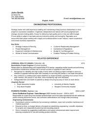 Samples Of Professional Resumes by Professional Resume Template Jvwithmenow Com