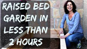 How To Build A Raised Garden Bed Cheap How To Build A Raised Garden Bed With Wood Easy And Cheap To