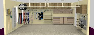 3d rendering the organized garage 3d design st louis