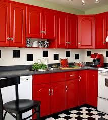 Red Kitchen White Cabinets Best 25 Kitchen Ideas Red Ideas On Pinterest Red Kitchen Decor