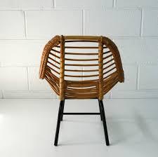 mobilier vintage enfant fauteuil enfant rotin 1960 la marelle mobilier et décoration