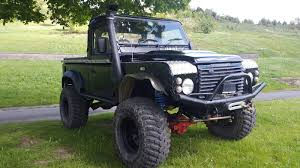 land rover truck 2015 landrover defender land rover defender 90 td5 county truck cab