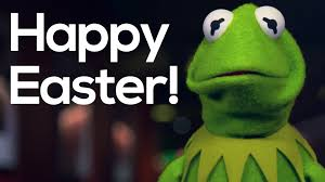 happy easter from the muppets kermit the frog the muppets