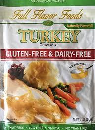 turkey gravy mix gluten free dairy free complete turkey gravy mix
