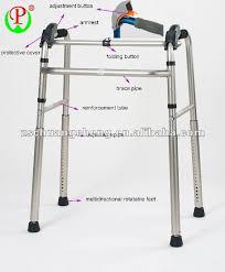 patent aluminium foldable stair climbing disabled walking aid