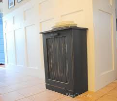 kitchen trash can storage cabinet garbage can cabinet diy pull out trash can in a kitchen cabinet