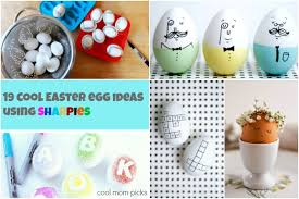 cool easter ideas sharpie easter eggs 19 of the coolest no mess decorating ideas