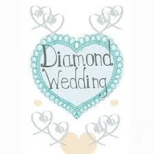 60th Wedding Anniversary Greetings 60th Anniversary Gifts Diamond Anniversary Gifts