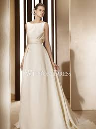 wedding dresses on a budget sleeveless organza ivory draped backless a line wedding