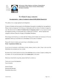 Wedding Invitation Letter For Us Visitor Visa uk family visitor visa covering letter sle lv crelegant