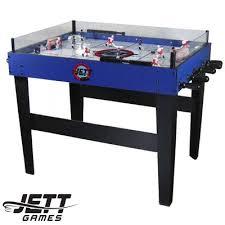 rod hockey table reviews f g bradley s bubble rod hockey tables jett ice raider rod
