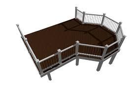 deck plans deck design plans trex