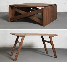 furniture expandable sofa table coffee table converts to dining