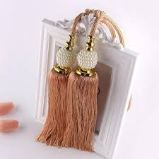 Gold Curtain Tassels Best Curtain Tiebacks Products On Wanelo