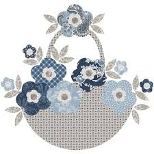 applique patterns blooming baskets blooming basket and seven applique