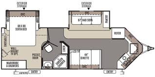 Rockwood Trailers Floor Plans Full Specs For 2014 Forest River Rockwood Windjammer 2618w Rvs