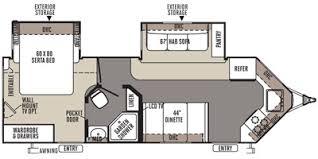 Rockwood Travel Trailer Floor Plans 2014 Forest River Rockwood Windjammer Travel Trailer
