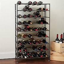 metal wine storage rack wine enthusiast