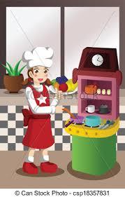 jouer cuisine jouet cuisine cuisine jouer jouet cuisine vecteurs
