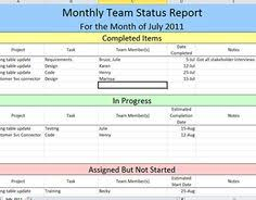 create weekly project status report template excel u2013 microsoft