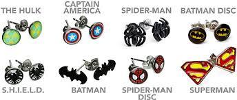 batman earrings earrings thinkgeek