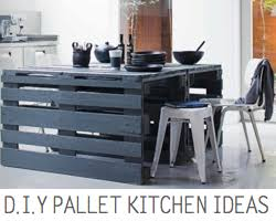 Kitchen Palette Ideas Pallets For The Kitchen Some D I Y Inspiration From Scraphacker