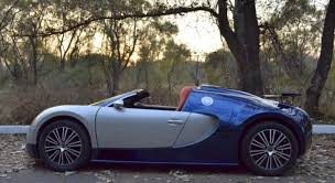 replica bugatti kid u0027s veyron worth more than your car