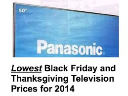 best black friday and thanksgiving tv deals for 2014