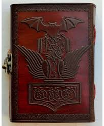 thor s hammer 5x7 latching journal
