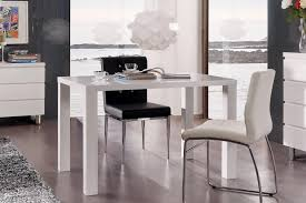 table de cuisine blanche avec rallonge table a cuisine table carrée blanche avec rallonge trendsetter