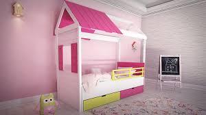 cabane fille chambre chambre à coucher fille complète meuble et lit cabane fille bambinos