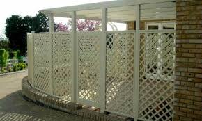 Wooden Trellis Panels Painted Classic Bespoke Trellis Panels Wooden Fence Trellis