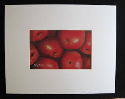 Apple Home Decor Apple Artwork Etsy
