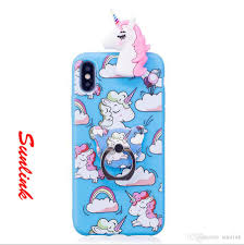 metal unicorn ring holder images Tpu rubber case ring holder unicorn diy multi patterns and styles jpg