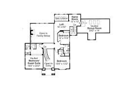 Colonial House Plan by Colonial House Plans Franklin 50 001 Associated Designs